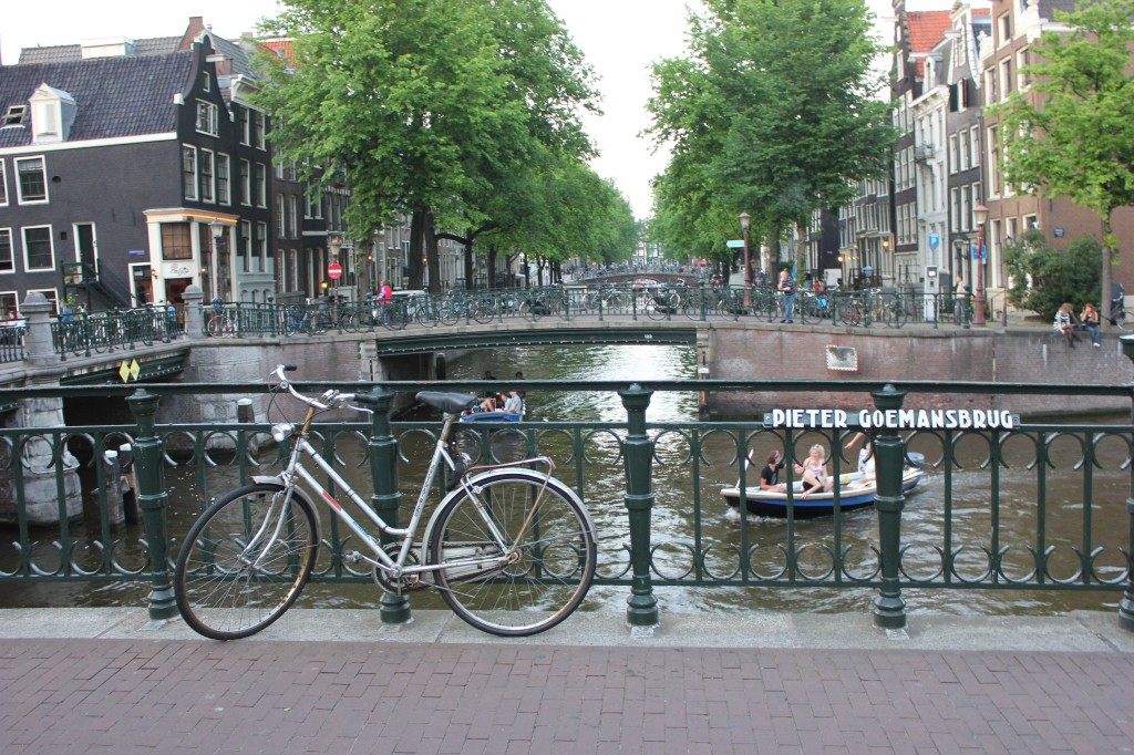 canals in Amsterdam