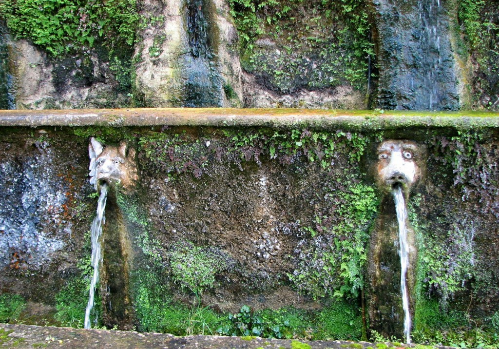 fountain in Villa D'Este