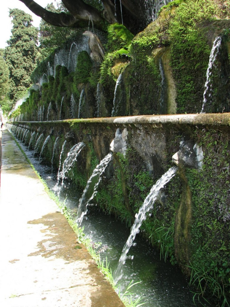 grounds at Villa D'Este