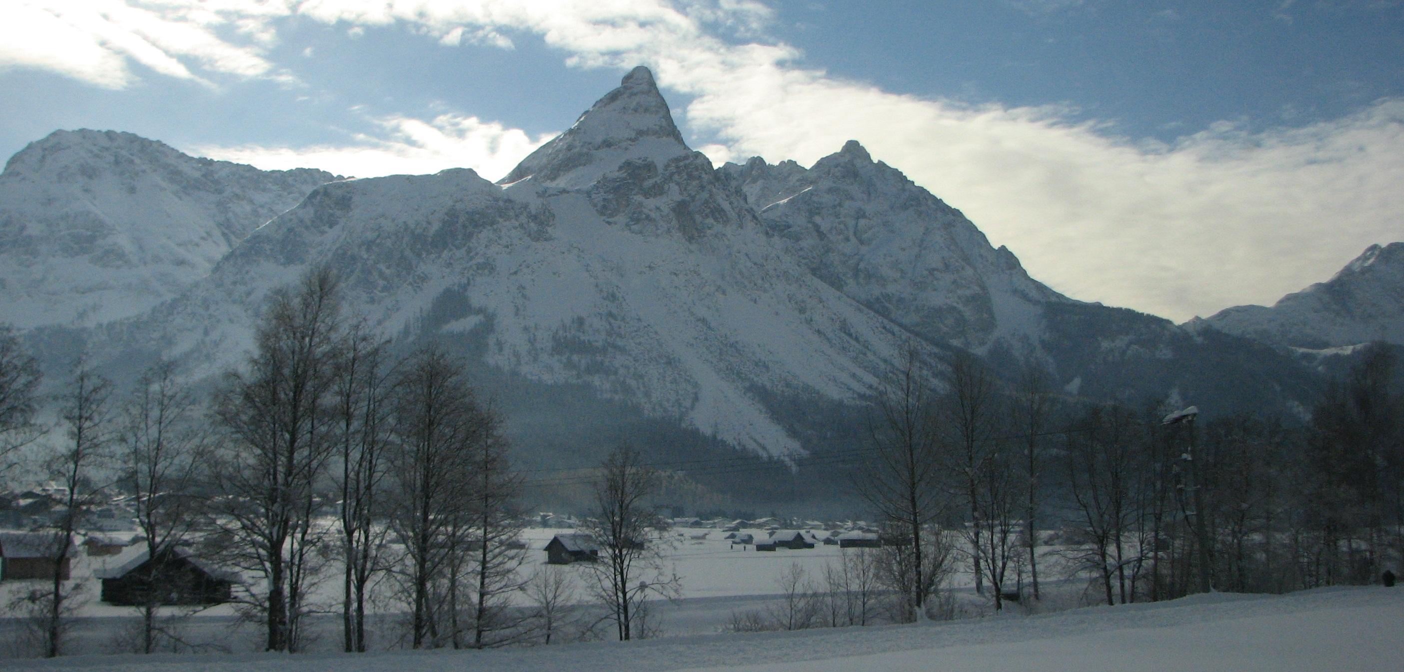 mountain view in Garmisch